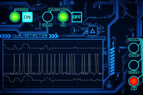 Detector de minciuni pe Iphone